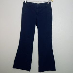 MADEWELL Blue Widelegger Pants Slacks